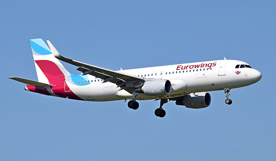 Eurowings will fly to Namibia